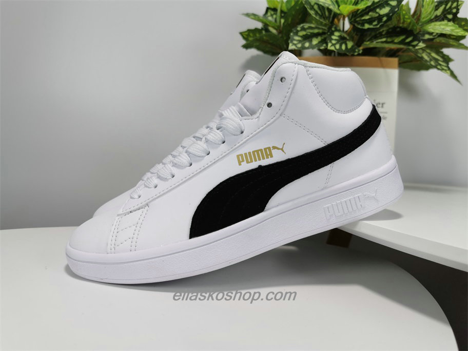 Puma 1948 Mid High Tops Leather Hvit/Svart Lifestyle Sko